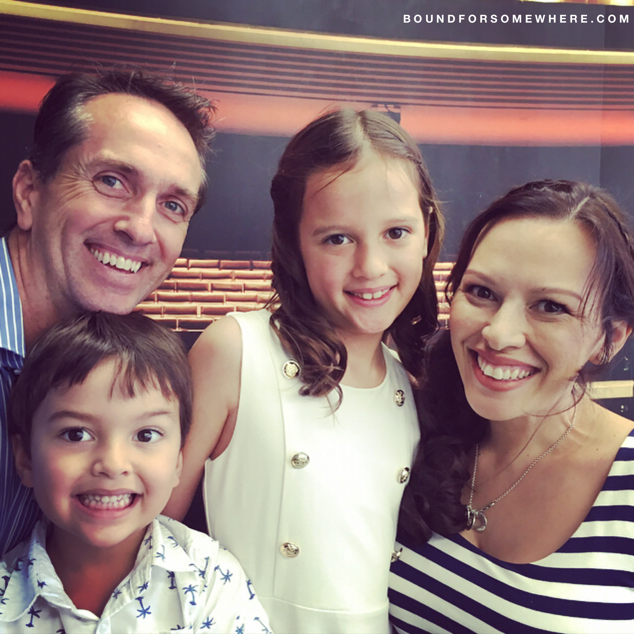 A fun packed weekend away for the family in Brisbane