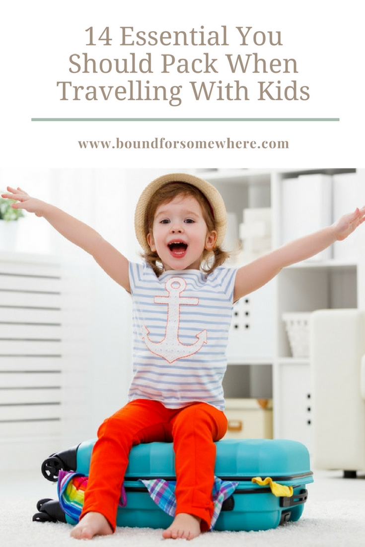 What should you pack when flying with kids? Here are 14 essentials you dont want to forget