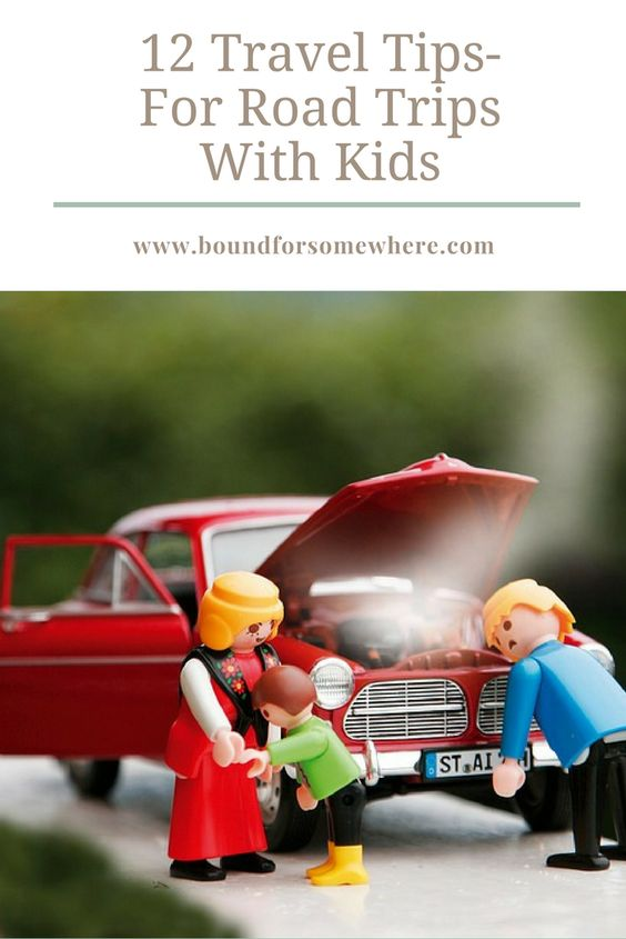 12 Travel tips Perfect For Road Trips With Kids