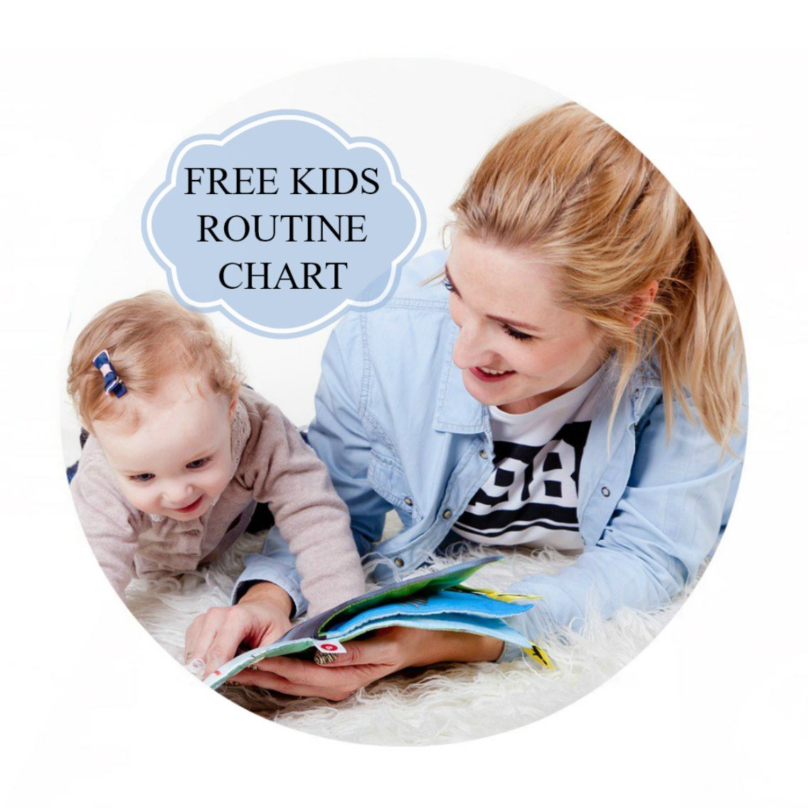 Free kids routine chart for mums