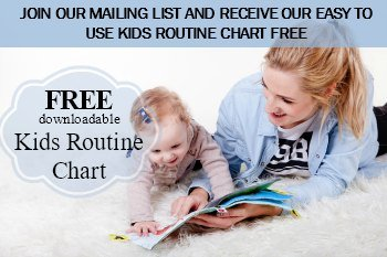 downloadable kids routine chart for morning and night time routine setting by bound for somewhere