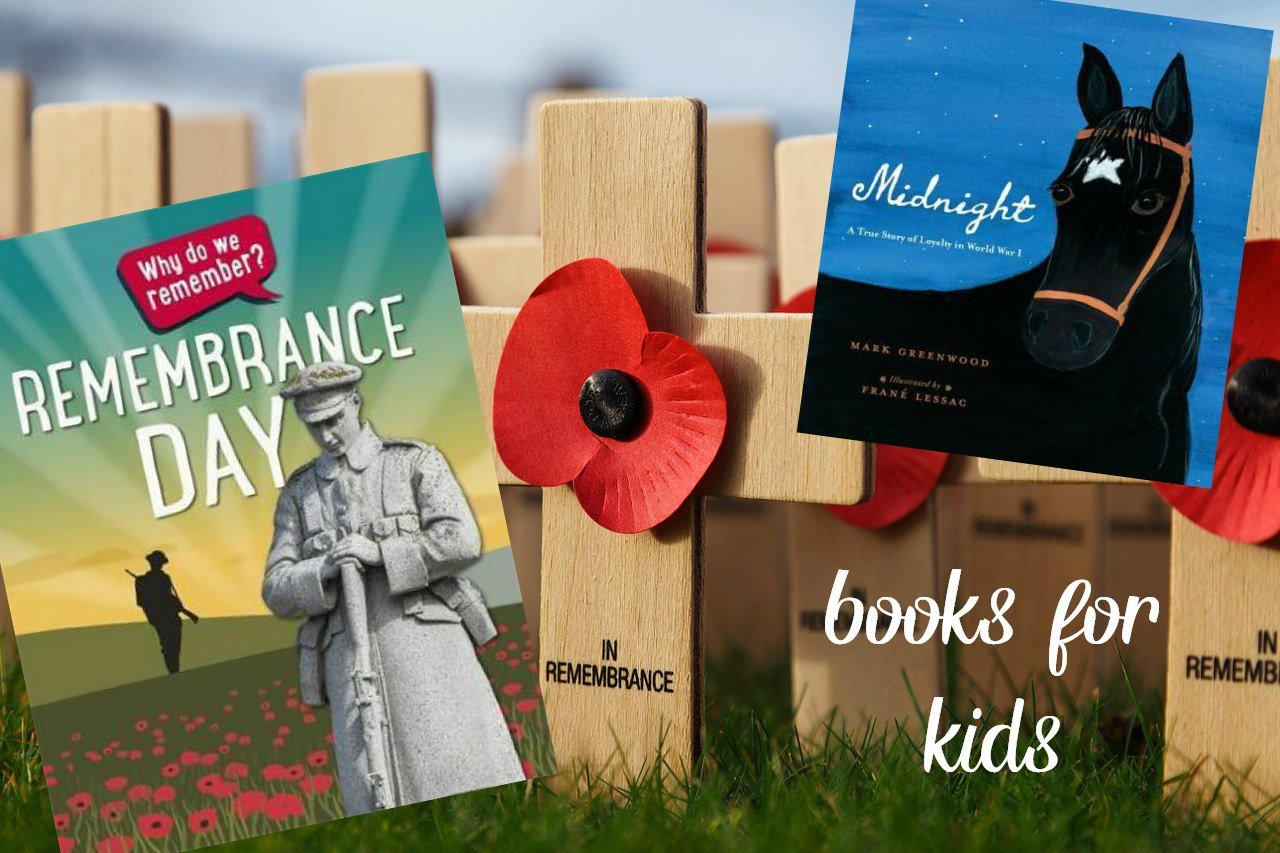 remembrance day books for kids