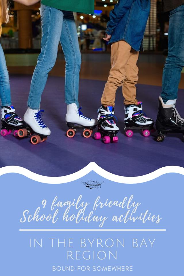 Family Friendly Activities Byron Bay School Holidays Pinnable Image