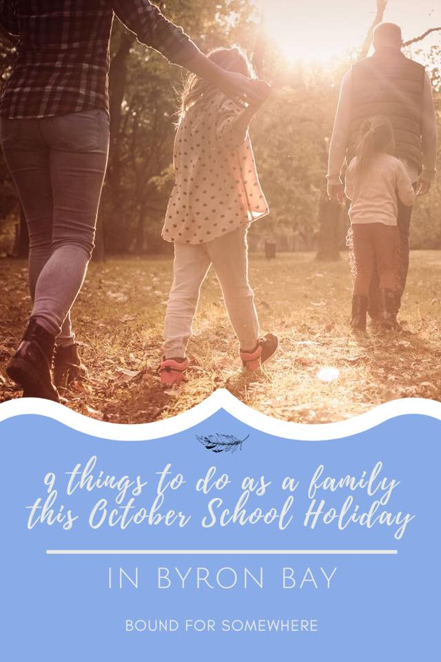 Family Activities Byron Bay School Holidays Pinterest Image