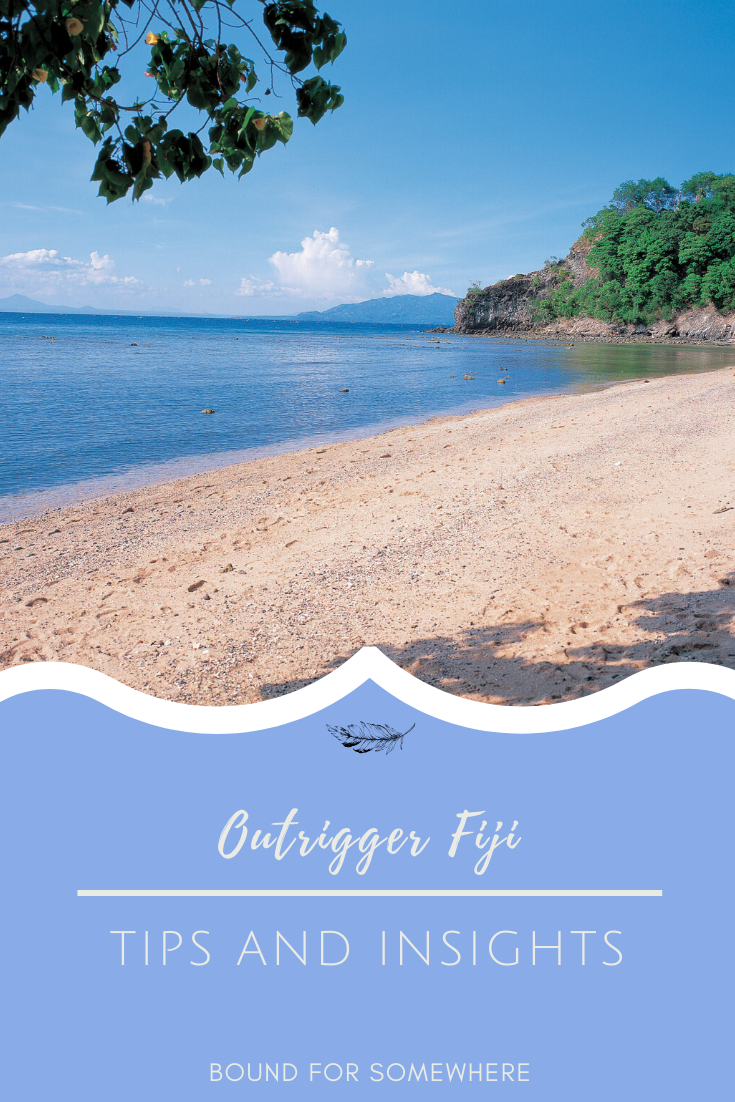 Outrigger Fiji Beach Hint And Tips Pinterest Image